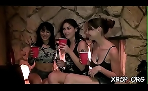 Superb except for gratifying in an unforgettable sex party scene