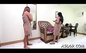 Thai angel likes to get caressed before property impaled on cock
