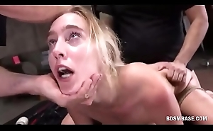 Blonde Bimbo Gets Dominated