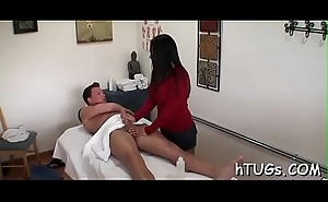 Sexy asian likes giving her clients a little extra lark