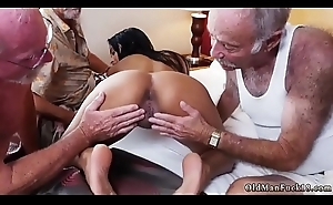 Daddy master Staycation with a Latin Hottie