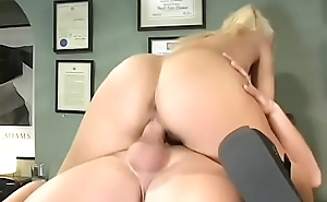 Sexy big ass schoolgirl gets say no to trimmed pussy fucked roughly