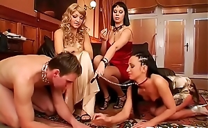 Blistering fetish action with lady's man obtaining haunted by sexy babe