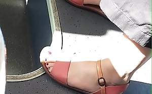 Beautiful Feet in the bus