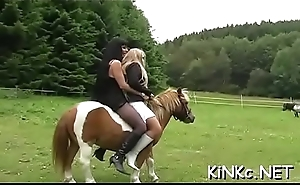 Female embrace b influence with hard whipping and riding naked serf