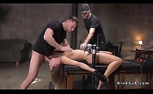 Huge tits slave indiscretion and ass fucked