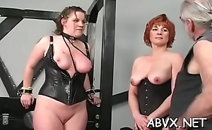 Top notch bungling bondage sexual connection scenes with valuable beauty