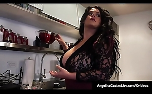 Hot BBW Angelina Castro Shares BF'_s Cock Connected with Roberta Gemma!