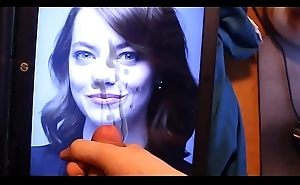 Emma Stone Down Cum Shot all Over Her Pretty Face!