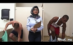 Nasty arab playgirl receives a rough fuck newcomer disabuse of say no to powerful stud