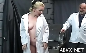 Teen submissive in extreme bondage xxx porn action
