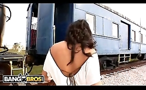 BANGBROS - Cum And Have in mind The Train With Charley Chase (Oldschool)