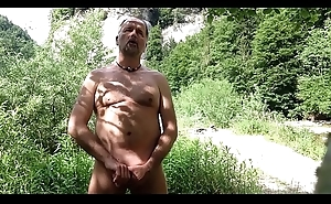 stimulating ourselves outdoor