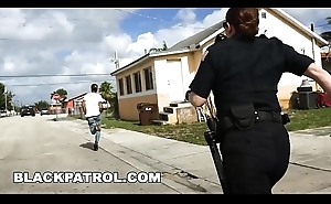 BLACK PATROL - Officer Maggie Green and Her Partners Are Layin'_ Down Someone's skin Law