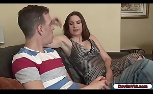 Stepmom wishes her stepsons big cock